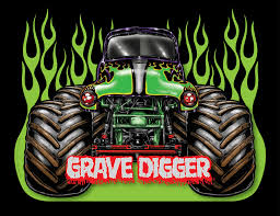 grave digger monster truck party supplies grave digger clipart 39