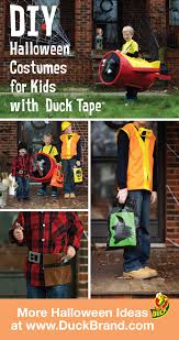 Halloween Costume Construction Worker Easy Diy Halloween Costume Ideas Kids Duck Tape Airplane