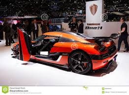 koenigsegg switzerland koenigsegg one in geneva editorial stock photo image of european