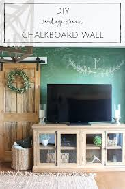 how to paint a chalkboard wall in any colour making it in the