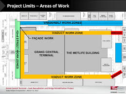 grand central terminal map update grand central neighborhood construction projects grand