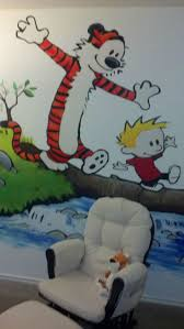 13 best masking tape murals images on pinterest masking tape calvin and hobbes inspired room for our baby boy