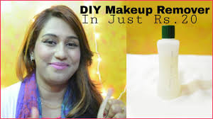 best diy makeup remover in just rs 20 with live demo eye makeup