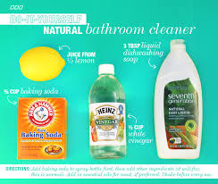 how to make natural bathroom cleaner 6 all natural household dyi cleaners