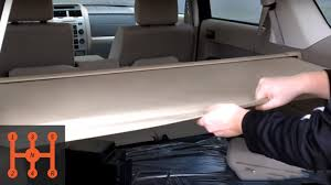 2008 ford escape seat covers ford escape cargo shade installation partscheap com