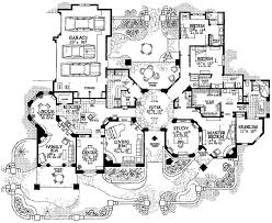 southwest floor plans adobe southwestern style house plan 3 beds 3 50 baths 3959 sq