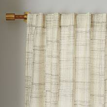 120 Inch Sheer White Curtains Window Treatments West Elm