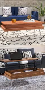 cherry lift top coffee table 33 beautiful lift top coffee tables to help you declutter and multi task