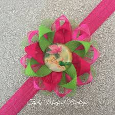 tinkerbell ribbon 11 best tinkerbell hair bows images on grosgrain