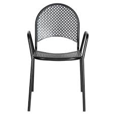 Black Patio Chairs by Furniture Ideas Mesh Patio Chairs With Metal Chair Material And