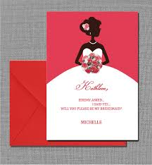 bridesmaid invitations template free pdf will you be my bridesmaid card template is