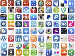 popular popular app icons on white stock photo 505981389 istock