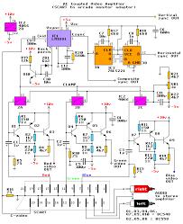 arcade monitor interface circuits