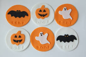Halloween Cake Topper by Halloween Cupcake Toppers Rebecca Cakes U0026 Bakes