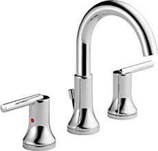 Delta Faucets Bathroom by Delta Faucet 3559 Mpu Dst Trinsic Widespread Bath Faucet With