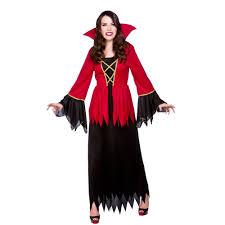 ladies halloween vampire queen temptress gothic cape fancy