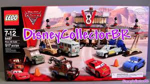 cars sally and lightning mcqueen kiss lego cars flos v8 cafe buildable toys 8487 cars 2 disney pixar flo