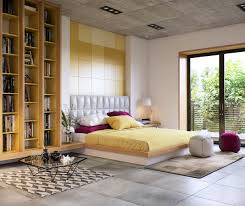 bedroom expressively designed bedrooms in detail weathered exposed expressively designed feminine bedroom features wooden platform bed white tufted headboard striped yellow bedding magenta pillows