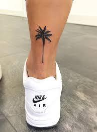 palm tree palm and tatoo