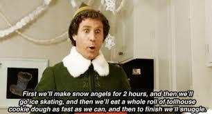 Elf Movie Meme - gif christmas snow funny holiday happy elf will ferrell movie