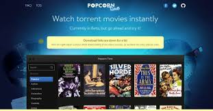 popcorn time pirated movie streaming software available on ios for
