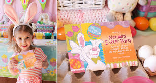 easter crafts and games kids easter party ideas at birthday in a box