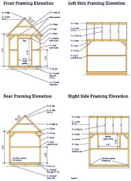 garden shed plan gable shed blueprints 8 10 plans for a diy garden shed