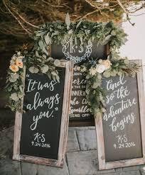 chalkboard wedding sayings rustic bohemian california wedding in a greenhouse wedding