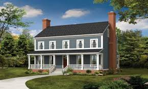 Front Porches On Colonial Homes Colonial House Plans With Front Porches