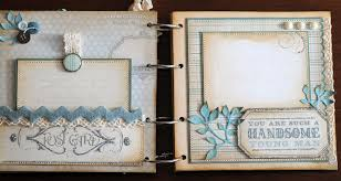 boy photo album killam creative baby boy mini album stin up beau chateau