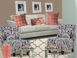 navy blue and teal coral living room background to help
