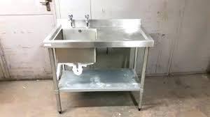 free standing kitchen sink commercial free standing kitchen sink
