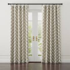 Crate And Barrel Curtains Linen Chevron Curtains 8ft U0026 9ft Lengths 90 110 Each Http Www
