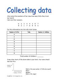 collecting data doingmaths free maths worksheets