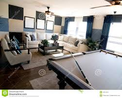luxury game room interior design stock images image 4284444