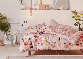 Pink Bed Frames Apartment Bedroom Decor Patterned Bedding More Outfitters