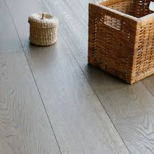 Grey Laminate Flooring B Q Colours Jazzy Dove Grey Oak Long Plank Real Wood Top Layer
