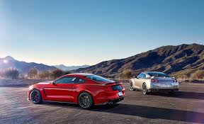 ford mustang gtr godzilla vs voodoo child nissan gt r takes on ford mustang shelby