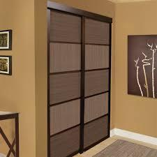Interior Design Sliding Wardrobe Doors by Shop Unbranded Espresso Cafe Sliding Closet Door At Lowe U0027s Canada