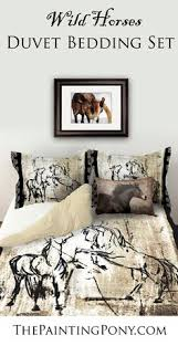 Horse Decor For The Home Duvet Bedding Sets For The Equestrian Horse Lover U0027s Bedroom Decor