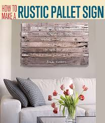wood sign wall creative wall decor ideas pallet wood walls wood wall and