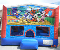mickey mouse clubhouse bounce house mickey mouse clubhouse module house