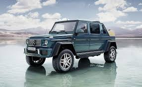 mercedes g500 pickup mercedes taps ultraluxury suv trend with maybach g class