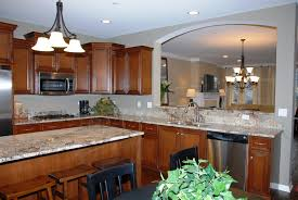 kitchen how to layout an efficient kitchen floor plan floor full size of kitchen brown kitchen table stainless faucet electric stove white chandeliers brown wall