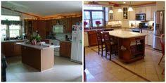 Mobile Home Kitchen Makeover - decorated single wide mobile homes singlewide mobile homes from