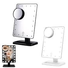 online buy wholesale lighted makeup mirror 10x from china lighted
