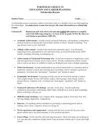Blank Job Resume Form Resume Blank Format College Scholarship Resume Template Format