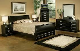 Cream And Black Comforter Amazing Decorating Ideas Using Rectangular Cream Wooden Dressers