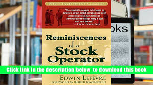 audiobook reminiscences of a stock operator wiley investment