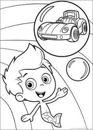 bubble guppies coloring pages cartoon jr stuff
